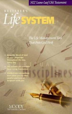 NLT Old Testament- Believers Life System