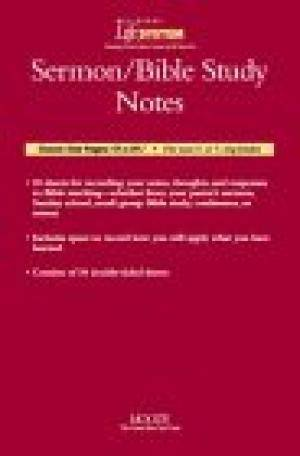 Bls Sermon Note Sheets- Package Of 30