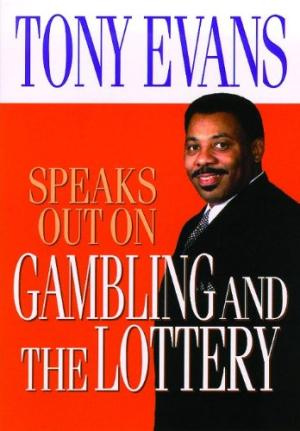 Gambling and Lottery Tony Jones Speaks Out