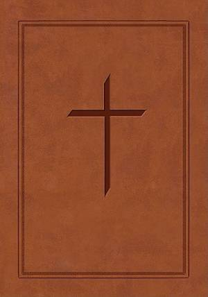 ESV Ryrie Study Bible: Brown, Red Letter, Soft-tone