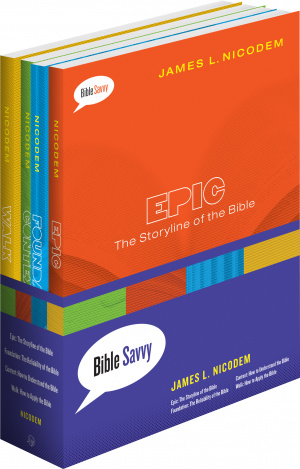 Bible Savvy Set Of 4 Books Pb