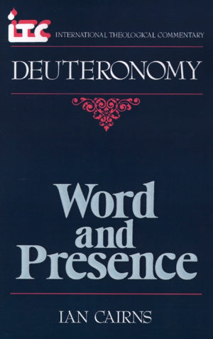 Deuteronomy : International Theological Commentary