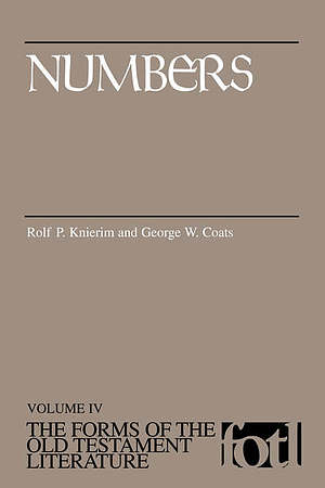 Numbers : Forms of the Old Testament Literature