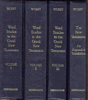 Word Studies in the Greek New Testament 4 volume set