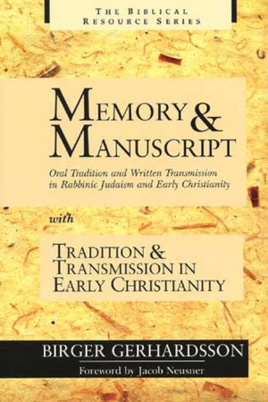 Memory and Manuscript