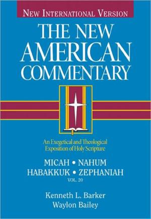 Micah Nahum Habakkuk Zepheniah Vol 20 Hb