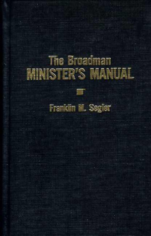 Broadman Ministers Manual The