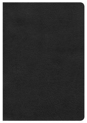 Nkjv Giant Print Reference Bible, Black Leathertouch, Indexe