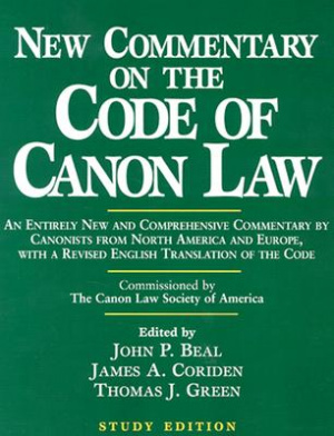 New Commentary on the Code of Canon Law Study Edition