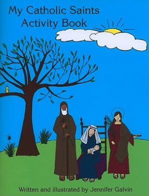 My Catholic Saints Activity Book