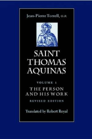 Saint Thomas Aquinas Person and His Work