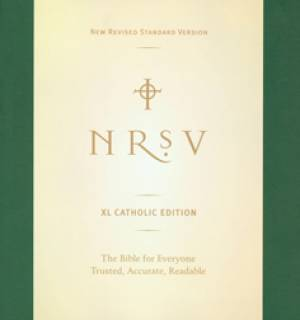 NRSV Extra Large Print Catholic Bible: Paperback