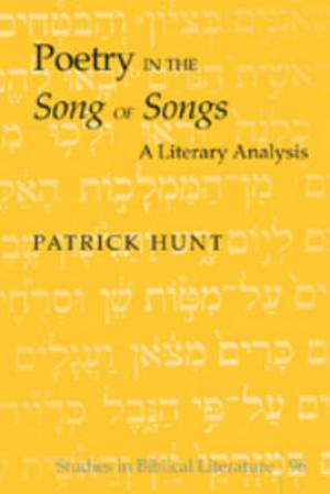 Poetry in the Song of Songs