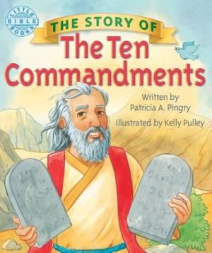 Story Of The 10 Commandments Boardbook