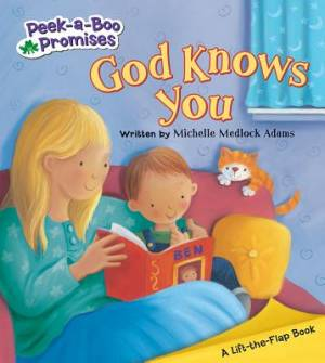 Peek-A-Boo Promises - God Knows You Board Book