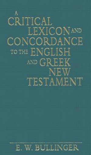Critical Lexicon And Concordance To The
