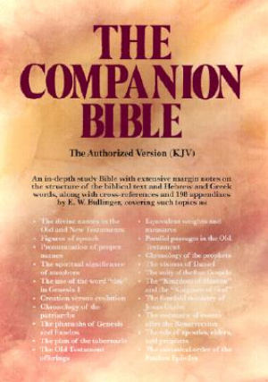 KJV Companion Bible : Black, Bonded Leather