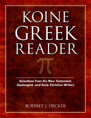 Koine Greek Reader Pb