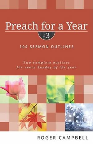 Preach For A Year Vol 3 Pb