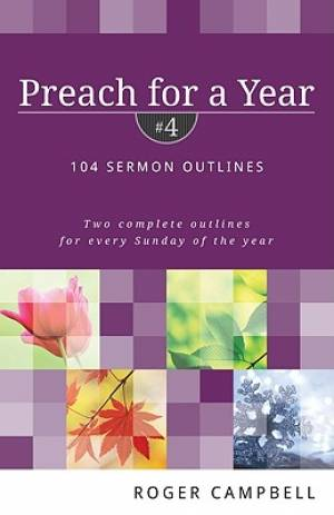Preach For A Year Vol 4 Pb