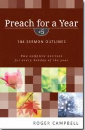 Preach For A Year