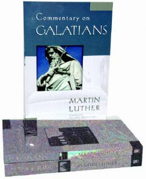 Romans, Galatians, and Peter & Jude : Essential Martin Luther Commentary Set