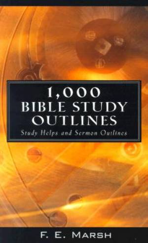 1000 Bible Study Outlines Pb