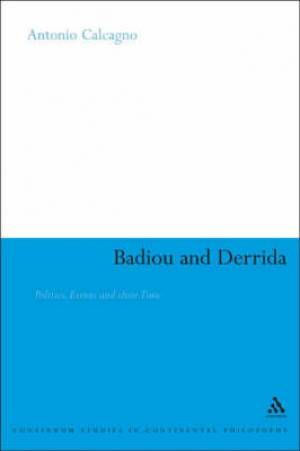 Badiou and Derrida