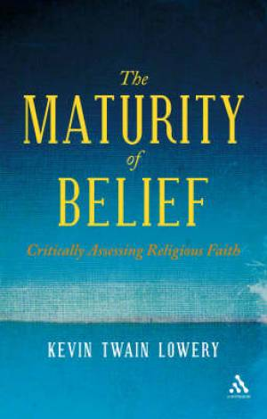 Maturity Of Belief