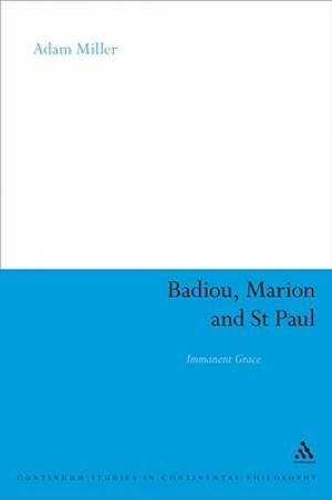 Badiou, Marion And St Paul