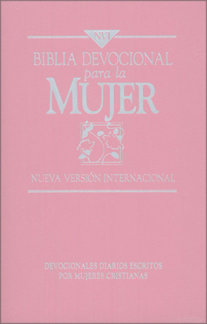 NVI Women's Devotional Bible: Pink, Imitation Leather