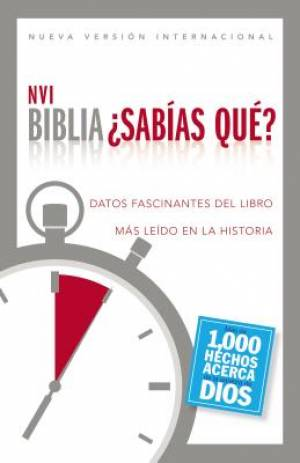 Biblia NVI - �Sab�as qu�?