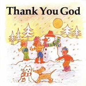 Thank You God (Little Fish Books)