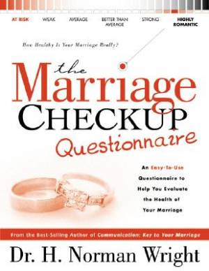 The Marriage Check-up Questionnaire