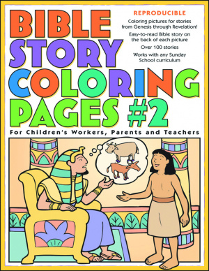 Bible Story Colouring Book Pages 2 Pb