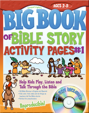 The Big Book Of Bible Story Activity Pages