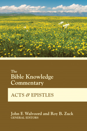 bible knowledge commentary new testament pdf