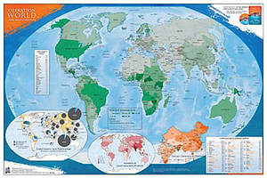 Operation World - Prayer Map