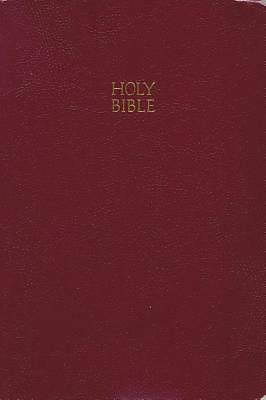 KJV Giant Print Bible Burgundy Imitation Leather