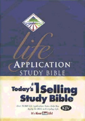 KJV Life Application Study Bible: Hardback