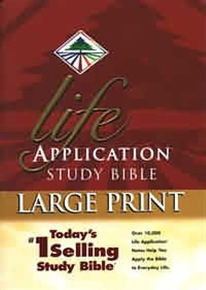NIV Life Application Study Bible: Hardback, Large Print, Thumb Index