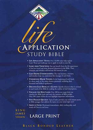 KJV Life Application Study Bible Large Print