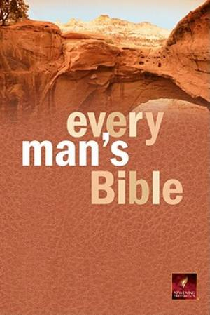 NLT Every Mans Bible Paperback