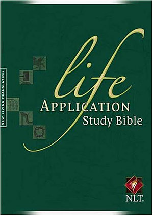 NLT Life Application Study Bible: Hardback