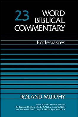 Ecclesiastes: Volume 23a