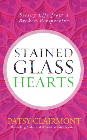 Stained Glass Hearts Hb