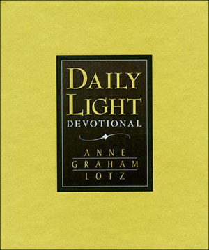 Daily Light Devotional : Black