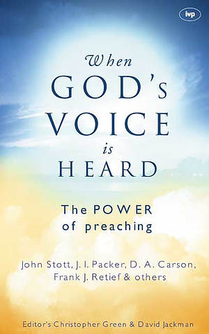 When God's voice is heard