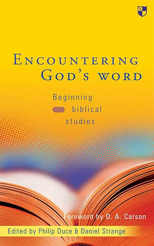 Encountering God's word