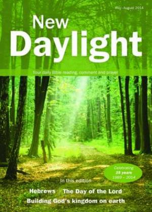 New Daylight May To August 2014